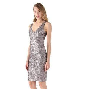 Velvet by Graham & Spencer Sequined Farah Dress M